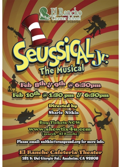 seussical the musical poster